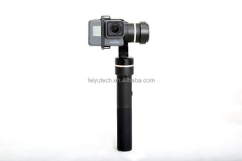 FY-G5 3-axis stabilized handheld gimbal with Rainproof compatible with Her o 5/4/3/3+ , Yi cam ,AEE work with APP