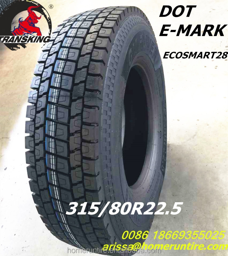 China all steel 275/80r22.5 radial truck tire with high quality, tyre pneus