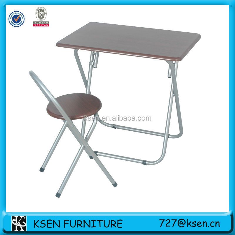 modern beech pvc table and chair set KC-7580