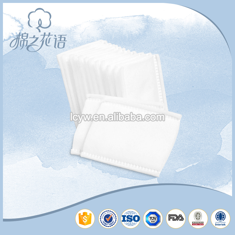 pressed facial cosmetic roll cotton pads manufacturers