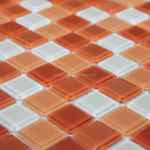 Promotional Glass mosaic table pattern, low price for mosaic tiles