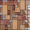 TC33 Ceramic tile mosaic prefabricated wall panels made in Foshan