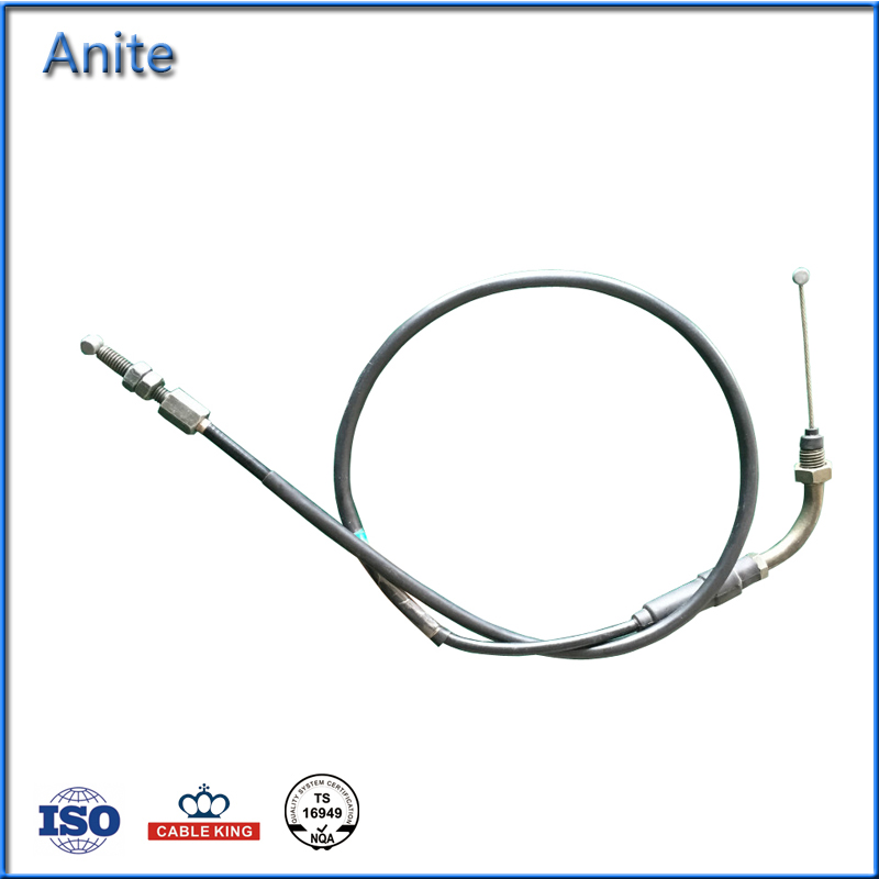 Cheaper Motorcycle Bajaj 180 Throttle Cable Control Cable Parts Manufacture