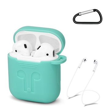 Amazon Hot Selling Shockproof Silicone Sleeve Cover Case Earphone Accessories For Airpod