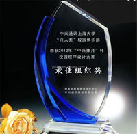 New Products Superior Quality Crystal Award