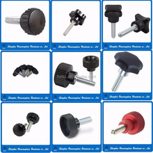 M4 M5 M6 M8 Steel screw bolts with plastic handle knob