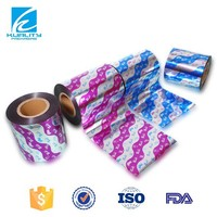 printed candy wrapper laminated food grade plastic film from packaging food industry