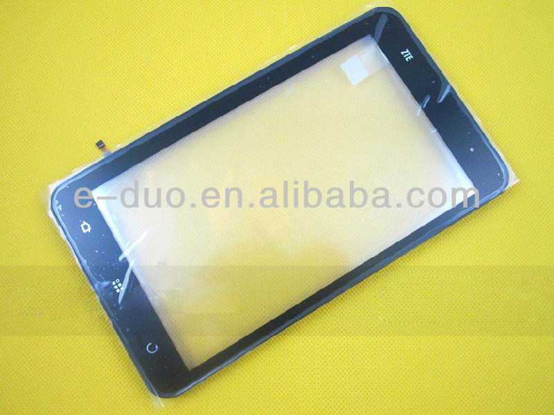 "Original new touch screen for ZTE V9 7"" inch Tablet PC Capacitive touch digitizer screen outer glass lens replacement with frame"