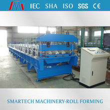 High speed Innovative high rib steel sheet decking profile cold roll forming machines