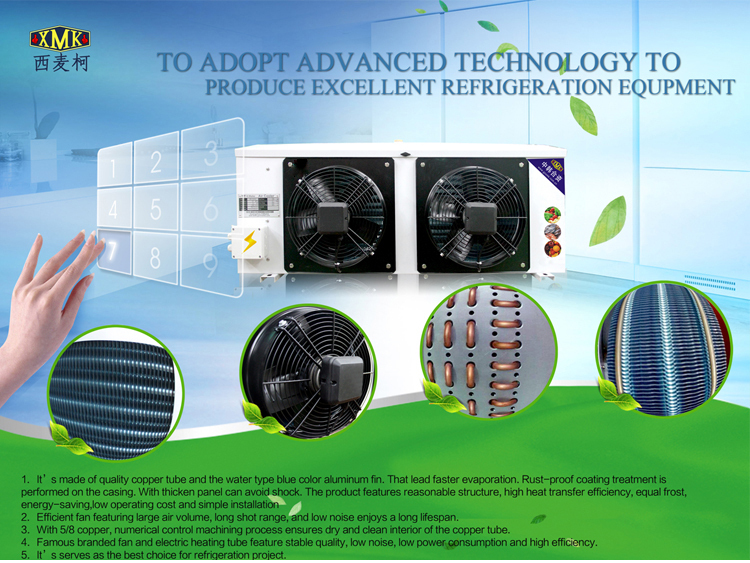 air cooled refrigerator evaporator;cold storage room evaporator;evaporator for cold room