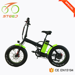 china hot sell folding electric bike high quality pocket fat bicycle 500w
