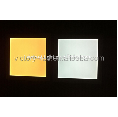 600*600mm 36w square led panel light recessed frost cover with hanged wire ETL appproval