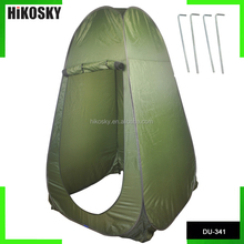 HIKOSKY Outdoor Pop-up Tent Room with Windows Camping Beach Toilet Shower Changing Room Bag