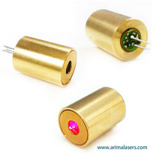 650nm 1mW D10.5mm Red Laser Diode Module, Fixed Focus Glass Lens Laser Module For The Laser Level