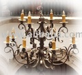 Mexican iron chandelier lighting