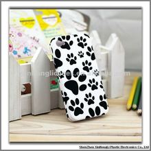 Hard cover case for iPhone 4G 4GS, double face + thermal transfer