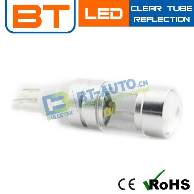 12v 18w 30W 5500k LED Lights T10 BA9S T15 H1 H3 880 881 T10 Bulb Socket Auto LED