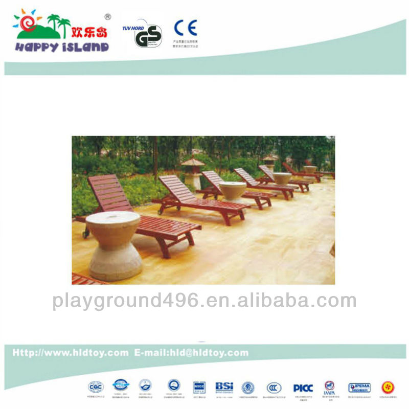 Outdoor Furniture Wood Sling Chair