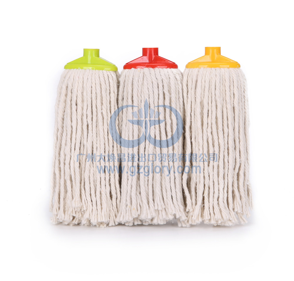 220g 5761 Natural cotton mop made in china rope mop with cheap price