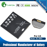 Mobile phone Battery BL-49KH For Lg Nitro HD P930 Spectrum VS920 Optimus LTE P930 SU640 LU6200
