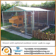3m x 3m Walk In Dog Kennel Pen Run Outdoor Exercise Cage