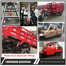 Made in China Chongqing Tricycle Automatic Tipper Dump Truck