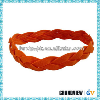 Promotional sweat fashion custom sports colorful head bands