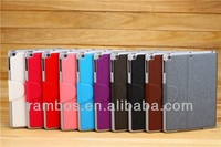 PU Leather Pouch Case Stand Flip Wallet Design with Card Holder Tablet Smart Cover for iPad Air