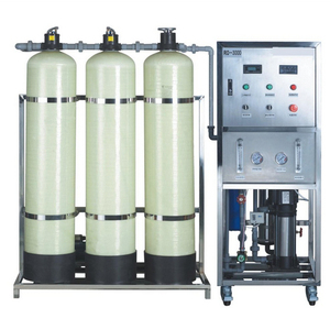 500L/h desalination ro water purifier plant with softener filter