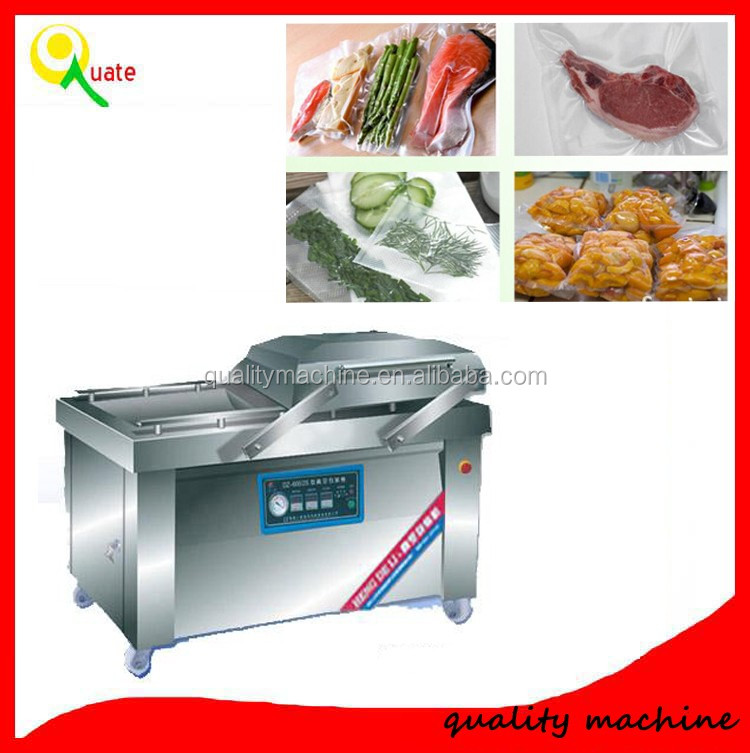 Semi Automatic Plastic Bag Vacuum Gas-flushing Packaging Machine