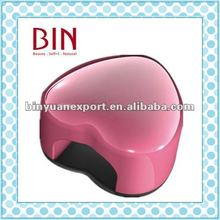 BIN lovely Heart Shape uv led lamp for nail art