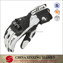 Outdoor Sports Motocross Off-Road Motorcycle Riding Knight Glove Full Finger Goat Skin Leather Carbon Fiber Racing Gloves