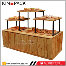 Bread retail shop interior design bakery display racks stands commercial furniture for food shop