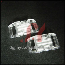 transparent plastic buckle for backpack