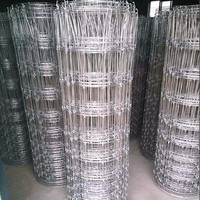 high strength galvanized steel deer fence/hinge joint fencing (factory, wholesale)