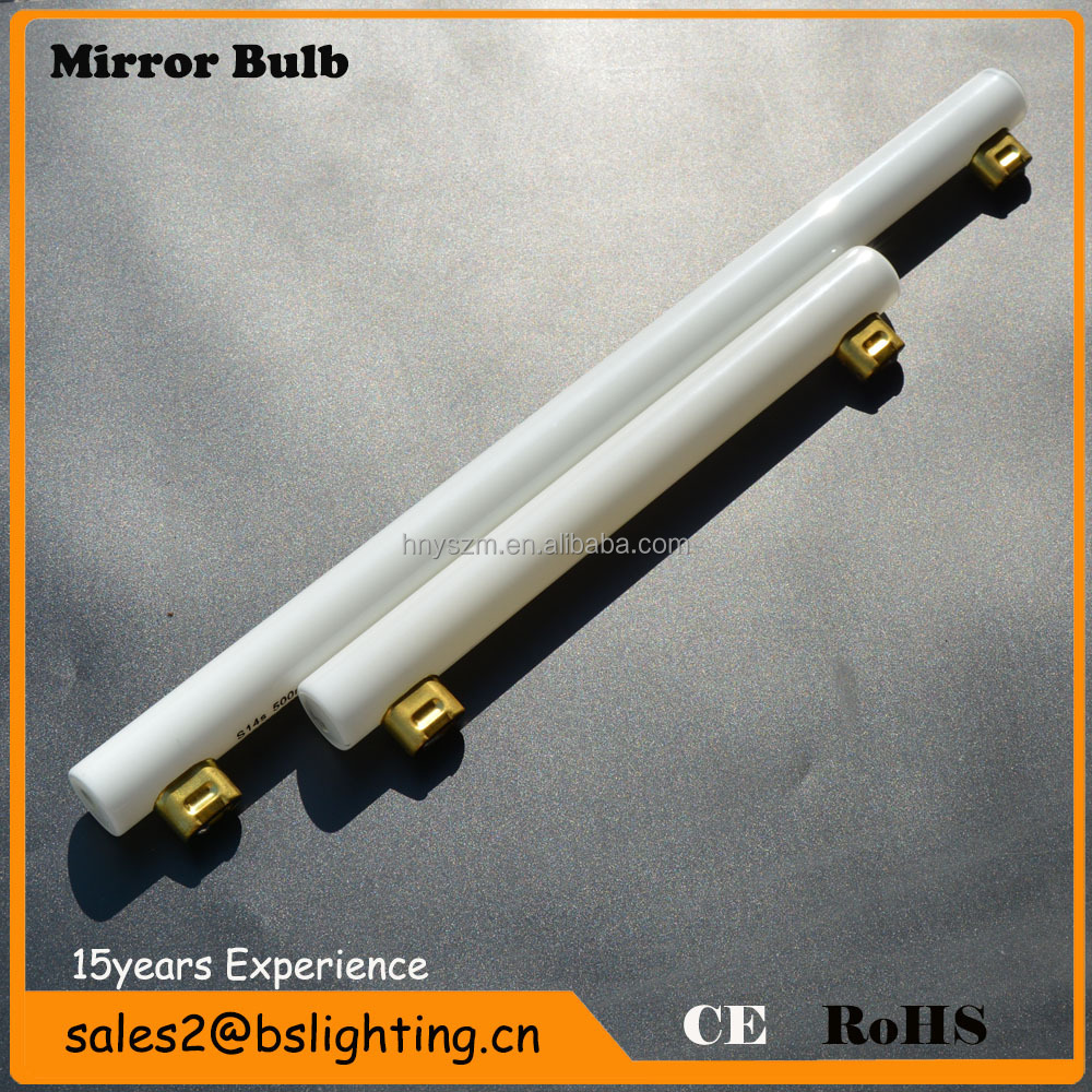 Led Tube Vanity Lights : S14s/s15,2700k-6500k,80-240v,3.5w 6w 8w,Glass Tube Wall Hung Bathroom Led Light Make Up Mirror ...