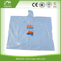 2017 Summer Mayrain Promotional Emergency Disposable PE rain poncho