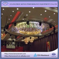 Ceiling lighting truss system