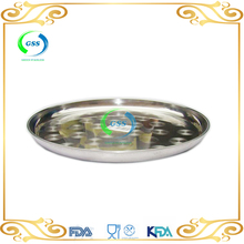 China factory Grape Stamp Design Stainless Steel serving tray with low price