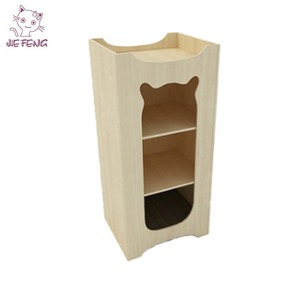 MDF board with sisal post economical qualified certification wholesale cat tree scratching