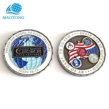 Cheap Custom enamel USA army metal challenge coins
