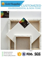 mini artist stretched canvas