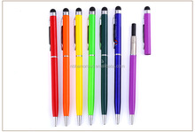 Touch metal ball pen !hiton pen custom Logo office school supplies metal ballpen black for promotion