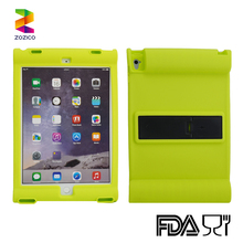 New Shockproof Cover for iPad air 2 Case Kids Safe Soft Silicone Back Holder Cover Cases for iPad air 2 inch Tablet