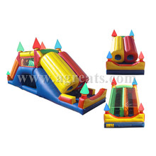 Hot sale inflatable bouncy obstacles inflatable games china for children G5006