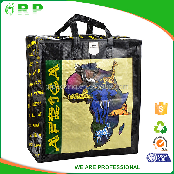 high quality waterproof beach bag with zipper