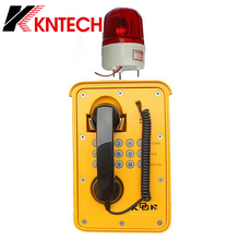 Explosionproof Corded Telephone Rugged SIP emergency phone with Loudspeaker CE FCC RoHS Certificate
