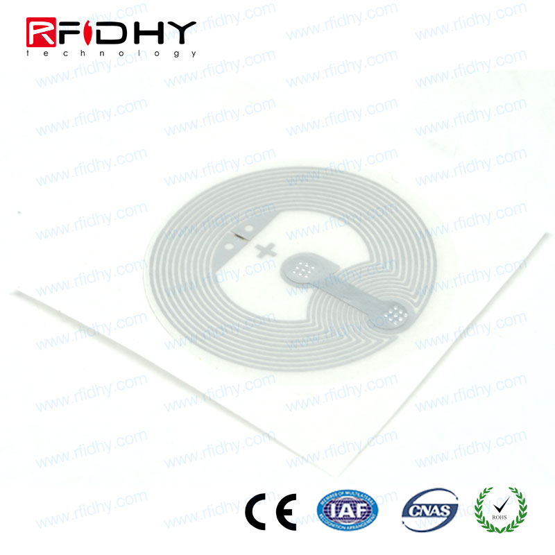 13.56mhz Type 2 PVC/PET/Paper NFC Tag With Ntag213 Chip