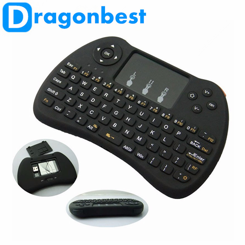 2017 China manufacturer direct supply H9 air mouse for Android TV bluetooth mx3 backlit 2.4g remote sale Wireless control