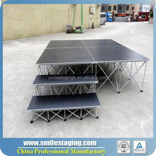 deluxe used portable staging, used portable staging